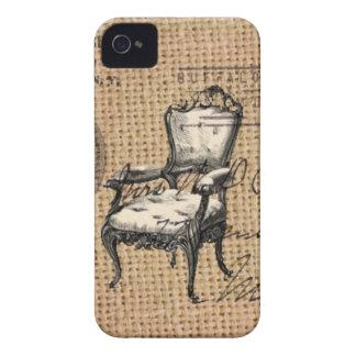 Coque Case-Mate iPhone 4 le pays français scripts la chaise de rococos de