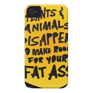 Coque Case-Mate iPhone 4 Les PLANTES et les ANIMAUX DISPARAISSENT…