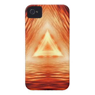 Coque Case-Mate iPhone 4 Motif rouge de triangle