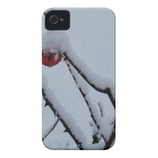 Coque Case-Mate iPhone 4 Ornements de neige et de Noël