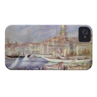 Coque Case-Mate iPhone 4 Pierre un Renoir   le vieux port de Marseille