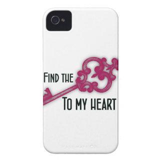 Coque Case-Mate iPhone 4 Trouvez la clé à mon coeur