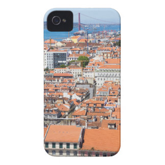Coque Case-Mate iPhone 4 Vue aérienne de Lisbonne, Portugal