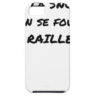 Coque Case-Mate iPhone 5 A LA SNCF ON SE FOUT DES RAILLEURS - Jeux de mots
