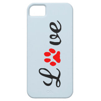 Coque Case-Mate iPhone 5 animaux familiers d'amour de cas de l'iPhone 5/5S
