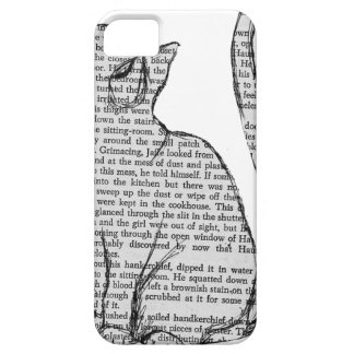 Coque Case-Mate iPhone 5 autocollant de livre de lecture de chat