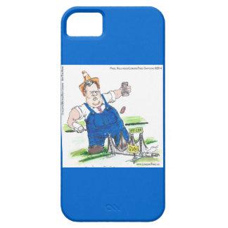 Coque Case-Mate iPhone 5 Bande dessinée drôle de Chris Christie sur le cas