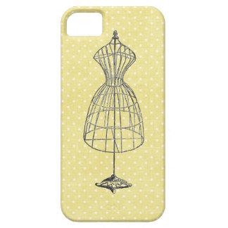 Coque Case-Mate iPhone 5 Cadre vintage de robe de fil