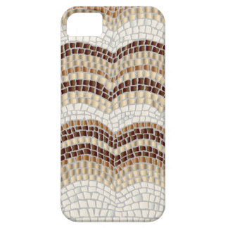 Coque Case-Mate iPhone 5 Caisse beige de l'iPhone SE/5/5s de mosaïque à