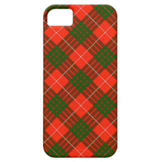 Coque Case-Mate iPhone 5 Cas de l'iPhone 5/5S de tartan de Crawford à peine