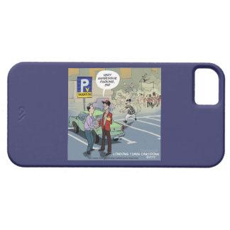 Coque Case-Mate iPhone 5 cas drôle de la bande dessinée 5/5S d'iPhone à pei
