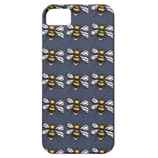 Coque Case-Mate iPhone 5 Cas humble de téléphone de bourdon de marine