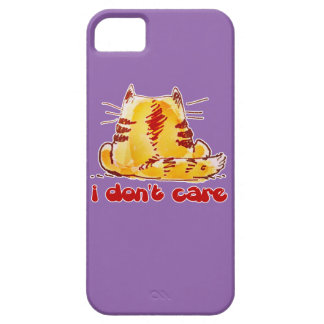 Coque Case-Mate iPhone 5 chat insouciant se reposant revenu