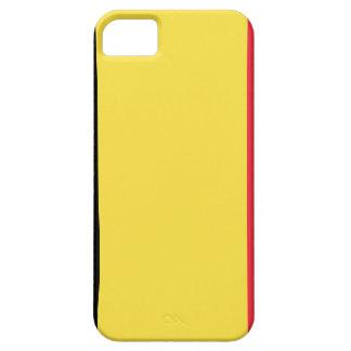 Coque Case-Mate iPhone 5 Drapeau de la Belgique