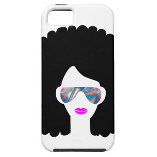 Coque Case-Mate iPhone 5 fille Afro d'hologramme