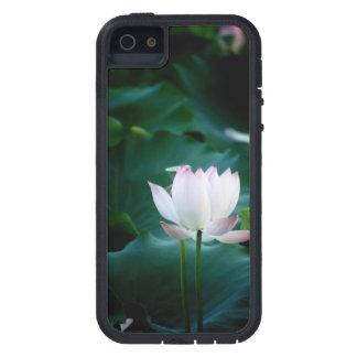 Coque Case-Mate iPhone 5 Fleur de Lotus blanc élégante