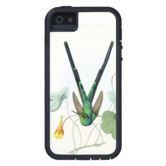 Coque Case-Mate iPhone 5 Fleurs d'animaux de faune d'oiseaux de colibris