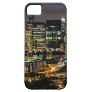 Coque Case-Mate iPhone 5 Horizon de Seattle la nuit