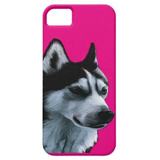 Coque Case-Mate iPhone 5 Illustration de Malamute d'Alaska