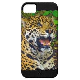 Coque Case-Mate iPhone 5 Jaguar, chat sauvage, amoureux des animaux, art de