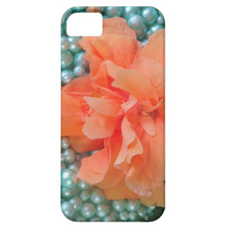 Coque Case-Mate iPhone 5 ketmie orange de Se d'iPhone sur des perles