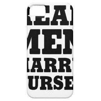 Coque Case-Mate iPhone 5 Les vrais hommes épousent des infirmières