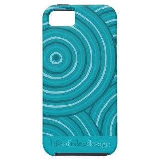 Coque Case-Mate iPhone 5 Ligne indigène cas de l'iPhone 5 de peinture
