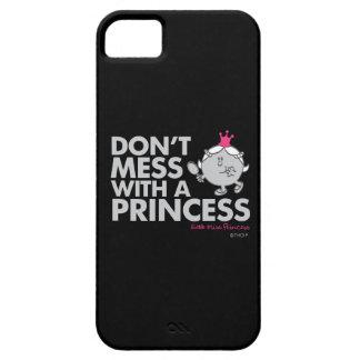 Coque Case-Mate iPhone 5 Ne salissez pas avec la petite Mlle le princesse