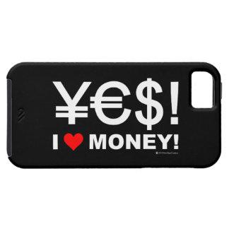 Coque Case-Mate iPhone 5 Oui ! J'aime l'argent !