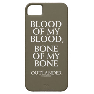 "Coque Case-Mate iPhone 5 Outlander | ""sang de mon sang, os de mon os """
