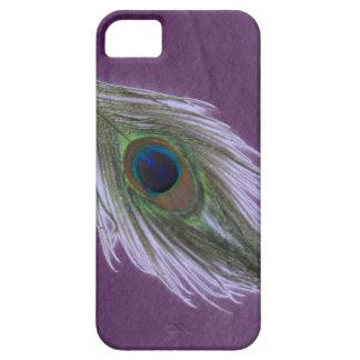Coque Case-Mate iPhone 5 Plume lilas D de paon