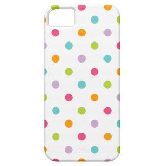 Coque Case-Mate iPhone 5 Pois coloré Girly mignon