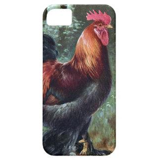 Coque Case-Mate iPhone 5 Se d'iPhone + iPhone 5/5S, à peine là - coq