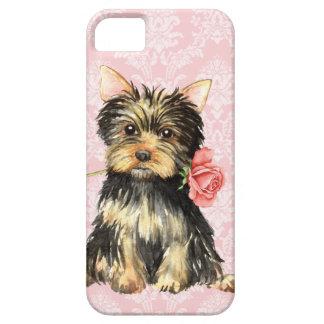 Coque Case-Mate iPhone 5 Valentine Yorkie rose