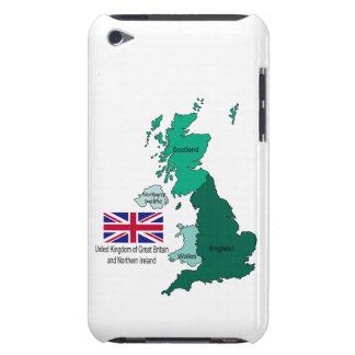 Coque Case-Mate iPod Touch Carte et drapeau du Royaume-Uni