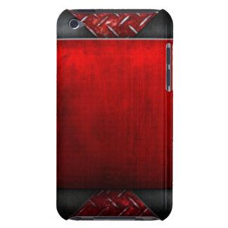 Coque Case-Mate iPod Touch Conception noire rouge d'impression de motif