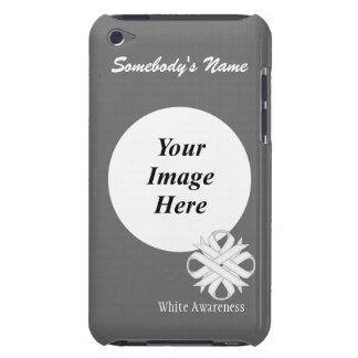 Coque Case-Mate iPod Touch Modèle de ruban de tréfle blanc