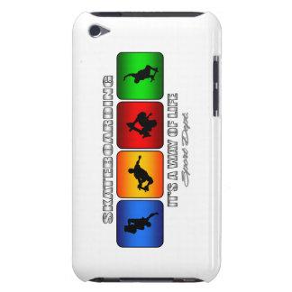 Coque Case-Mate iPod Touch Skateboarding frais c'est un mode de vie