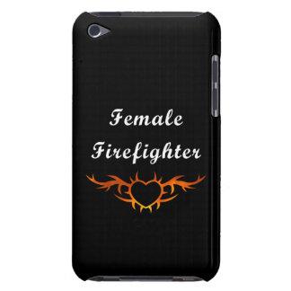 Coque Case-Mate iPod Touch Tatouage femelle de sapeur-pompier