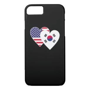 coque iphone 7 coeur coreen
