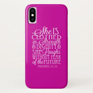 coque iphone x proverbe