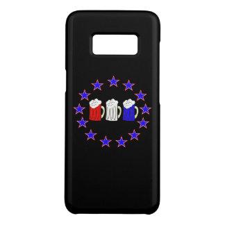 Coque Case-Mate Samsung Galaxy S8 3 Beercent de l'indépendance