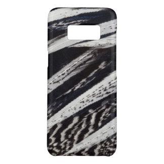 Coque Case-Mate Samsung Galaxy S8 Abrégé sur noir et blanc plume