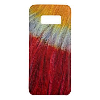 Coque Case-Mate Samsung Galaxy S8 Abrégé sur rouge plume de toucan de Breasted