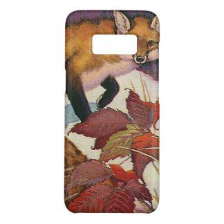 Coque Case-Mate Samsung Galaxy S8 Animal sauvage rouge de Fox de créatures vintages