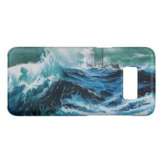 Coque Case-Mate Samsung Galaxy S8 Bateau en mer dans la tempête