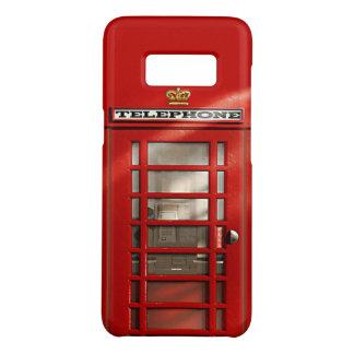 Coque Case-Mate Samsung Galaxy S8 Cabine de téléphone rouge britannique drôle