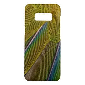 Coque Case-Mate Samsung Galaxy S8 Conception de plume de Jenday Conure