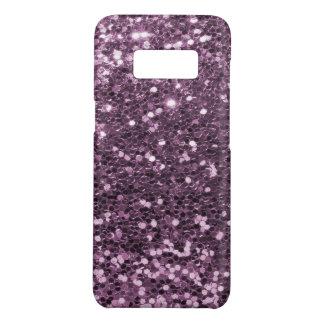 Coque Case-Mate Samsung Galaxy S8 Copie pourpre de scintillement de Faux de lavande
