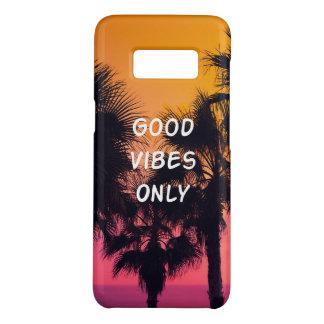 Coque Case-Mate Samsung Galaxy S8 Coucher du soleil tropical de paumes de plage de